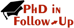 PhD in Follow-Up Logo